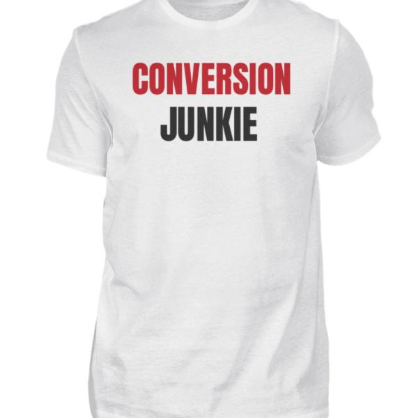 Conversion Junkie   T Shirt - Herren Shirt-3